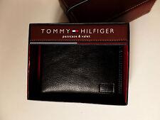 Geldbörse Tommy Hilfiger Portmonaise Geldtasche echt Leder in Lederschatulle NEU