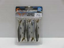 SAVAGE GEAR 3D NEW COLOUR BLEAK REAL TAIL DROP SHOT LRF FISHING 8cm 3g dropshot
