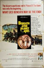 Vintage Original Beneath The Planet Of The Apes 27x41 Poster 1970
