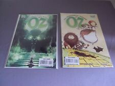 Wizard of Oz Comic Books #4 #1 Lot of 2 Marvel 2008  2009