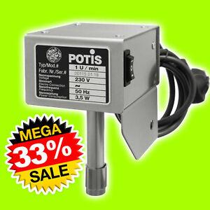 Potis Original Motor Motorantrieb Antrieb Kebab Grill Döner Gyross 1 U/min NEU
