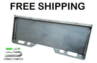 "ES 5/16"" Standard Quick Attach Plate skid steer Bobcat Kubota Case FREE SHIPPING"