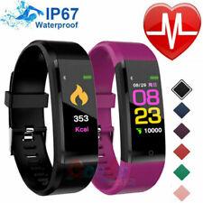 Smart Watch Fit*bit Waterproof Heart Rate Fitness Step Caolorie Tracker Monitor