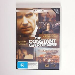 The Constant Gardener Movie DVD Region 4 AUS Free Postage - Thriller