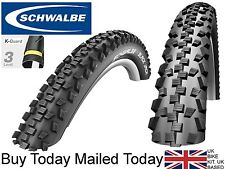 Schwalbe Black Jack Mountain Bike Tyre 26 x 2.1 Trail MTB Kevlar Anti Puncture