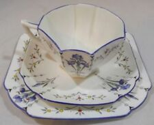 Saucer Blue Vintage Original Porcelain & China