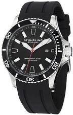 Stuhrling Original 706 01 Men's Aquadiver Regatta Diver Sport II Quartz Watch