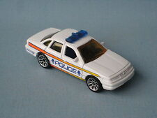Matchbox Ford Crown Victoria Police Car White Body Toy Model Car 25 Boxed