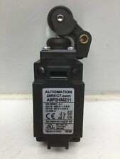 Automation Direct Abp2H35Z11 Limit Switch Horizontal Lever W/ Polyamide Roller