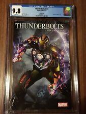 THUNDERBOLTS #143 CGC 9.8 Iron Man By Design 1:15 Variant. Marvel 2010 Rare!!