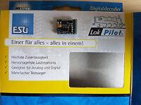ESU 54615 LokPilot H0 Decoder V4.0 DCC/RailCom 21MTC NEU OVP