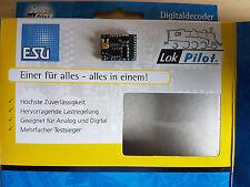 ESU 54615 LokPilot H0 Decoder V4.0 DCC/RailCom 21-pol.Schnittstelle NEU OVP