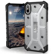 Coque Urban Armor Gear Plasma iPhone X transparent