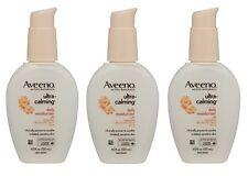 3 Pack - Aveeno Ultra-Calming Daily Moisturizer SPF 15 4oz Each