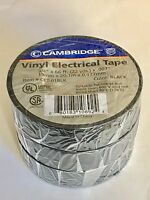 """Electrical Tape, 3/4""""X66'  VALUE PACK 3"""