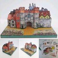 HISTORIC CRIPPLEGATE FULL COLOUR A5 CARD MODEL CUT OUT KIT SUITABLE FOR N GAUGE