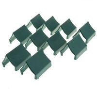 10pcs Army Base Set Plastic Toy Soldiers Action Figures Army Tent Accessory