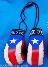 PUERTO RICO RICAN FLAG HANGING MINI BOXING GLOVES CARS TRUCKS GIFTS SOUVENIRS