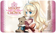 Heart Of Crown Deck-Building Card Game Princess Laolily Playmat Japanime Games