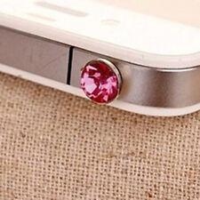 20x Bouchons Anti-poussière Strass Diamant Pour Prise Ecouteur Audio Portable
