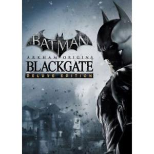 Batman: Arkham Origins Blackgate Deluxe Edition PC KEY (Steam)