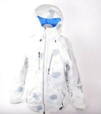 6ddb1b4a7f62 2014 MENS NIKE SB 800 AEROLOFT KAMPAI SNOWBOARD JACKET  512 L ivory blue  used