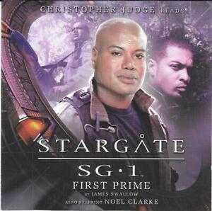 Big Finish Stargate SG1 First Prime Christopher Judge & Noel Clarke Audio CD