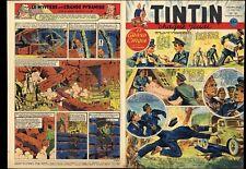 TINTIN  1952  FR  n°   181     René FOLLET : histoire 2 pages  BE+/TBE