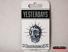 "Cyco Roulette 1.25"" Soft Enamel Black Metal Plate Pin Lamour Supreme Yesterdays"