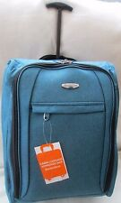 Lightweight-Cabin-Hand-Luggage-Carry-On-Wheeled -Bag-Trolley-Case -Petrol Bue