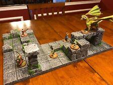 Heroscape Terrain Set Dungeons & Dragons Pathfinder d&d Dungeon HeroClix Scenery