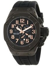 Swiss Legend 10541-BB-01-RA Mens Trimix Diver Chronograph Watch Black New in Box