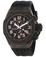 Swiss Legend 10541-BB-01-RA Mens Trimix Diver Chronograph Watch Black New in Box