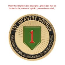 1th Infantry Division US Army Commemorative Coin Collection Arts Gifts Souvenir