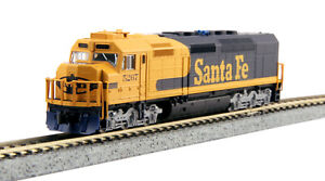 N Scale Kato 176-9213-DCC * EMD SDP40F, AT&SF #5267 * w/Factory DCC