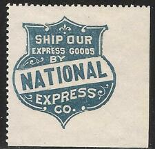 National Express Co Advertising Label