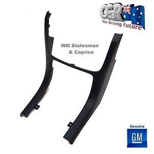 Dash Trim Heater Stereo WM Statesman & Caprice Onyx Grey Holden New 92261676