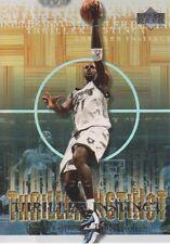 2000-01 Upper Deck Hardcourt Thriller Instinct Basketball Cards Pick From List