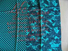 CODELLO schöner Schal Herzen Spruch INFINITY LOVE schwarz grün NEU