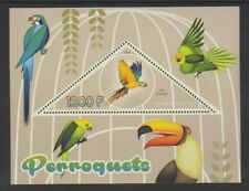 Congo - 2014, 1200f Parrots (Perroquets) sheet - MNH