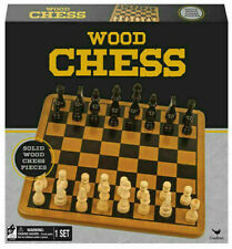 Cardinal Wood Wooden Chess Set with 29cm Board NEW