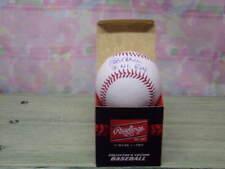 BOB HORNER SIGNED MLB BASEBALL 78 NL ROY BRAVES