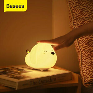 Baseus Smart Bedside Table Night Light Baby Room Lamp Dimmable Touch Control