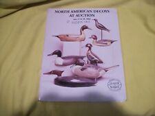 Guyette & Schmidt North American Decoys Auction Catalog July 27/28, 2000 - Vg/Ex