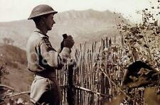 British Army Soldier Monte Pulito Italy 1944 World War 2 Reprint Photo 6x4 Inch