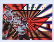 2016 Panini Unparalleled CLEVELAND BROWNS Pivotal Drive Card #PD-8 GARY BARNIDGE