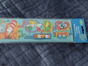 Dr. Seuss Cat In The Hat Deco Trim For Bulletin Boards-36 Feet-New In Package