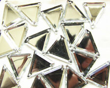 Acrylic Beads,Burgundy or Forest Green,26mm Long Triangular Beads