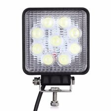 27W LED work flood square Light 12V 24V Off road Truck 4x4 Boat SUV lamp