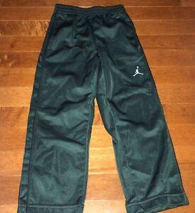 Jordan Youth Boy's Hunter Green Warm Up Pants Size 3-4 Years XS Free Shipping